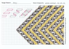 Free Zentangle How To Patterns | Lizzie Mayne has posted steps to her tangle patterns Pozi & Linden .