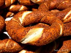Simit, so yummy and for only 1TL you can't go wrong!