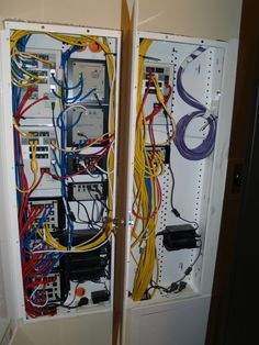 wiring panel for structured wiring home automation network home network wiring building a home network