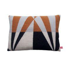 FEST Cushion ochre/black - Mae Engelgeer - BijzonderMOOI* Dutch design online