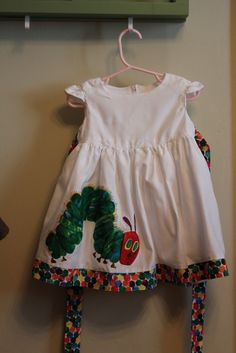Hungry Caterpillar Birthday Dress. This is an absolute YES when I have babies