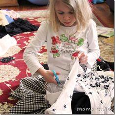 Hands-on fashion design for kids.