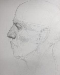 Student Work, Teaching Art, Insta Art, Art Drawings, Contemporary Art, Portrait, Instagram Posts, Artist, Charcoal