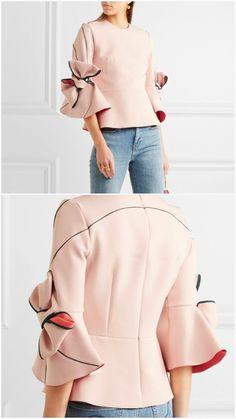 Jacket - All About Hijab Fashion, Girl Fashion, Fashion Dresses, Womens Fashion, Mode Outfits, Casual Outfits, Sleeves Designs For Dresses, Modele Hijab, Fashion Details