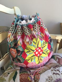 The Nundle Dilly-Bag pattern by Brigitte Giblin | Brigitte Giblin Quilts