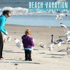 Tons of great packing tips for your beach vacation