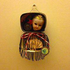 Fortune Teller Curio/assemblage by Killorcure on Etsy