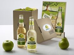 Somersby Apple & Pear Cider - Kit Contained fresh apples & pears, custom designed collateral, unique Somersby branded USB keyring