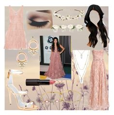 Celebrity style: Vanessa Hudgens (2 dress options) by movielooks on Polyvore featuring Notte by Marchesa, Valentino, Giuseppe Zanotti, Stella & Dot, Betsey Johnson, Cult Gaia, New Look and NDI
