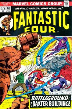 For sale marvel comics fantastic four 130 john buscema artwork jim steranko cover emorys memories. Marvel Comics, War Comics, Marvel Comic Books, Comic Books Art, Comic Art, Marvel Heroes, Marvel Art, Fantastic Four Marvel, Mister Fantastic