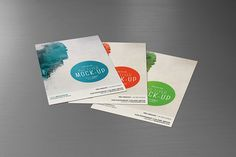 Flyer Mock-Up • for 4x6 Flyer on Behance