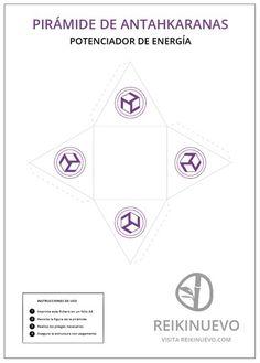 Pirámide de Antahkaranas recortable