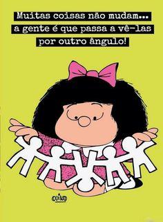 Mafalda Coisas Mudar Ver Diferente