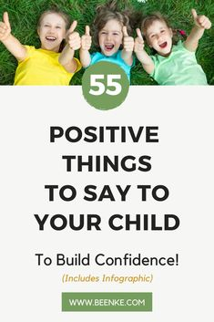 Here's 55 positive things to say to your child to help them feel confident and loved! Words of encouragement like these build feeling of self worth. Positive things to say to kids boost self esteem and encourage a growth mindset. Mindful Parenting, Parenting Teens, Parenting Advice, Practical Parenting, Natural Parenting, Positive Affirmations For Kids, Positive Discipline, Kids Behavior, Parent Resources