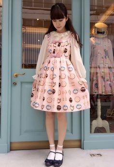 コーディネイト紹介 | Leur Getter大阪店BLOG Harajuku Girls, Harajuku Fashion, Japan Fashion, Kawaii Fashion, Lolita Fashion, Pink Fashion, Fashion Outfits, Quirky Fashion, Grunge Fashion