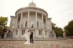 Jennifer Childress Photography | Wedding | Atrium at the Curtis Center | Philadelphia, PA | Loews Hotel | Cescaphe Events Group | Bride and Groom | www.jennchildress.com