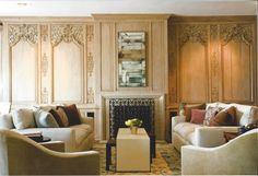 Classic Living Room; Design by Shelley Gordon Interior Design