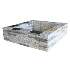 Natural Concrete Products Co Granite Wood Fire Pit