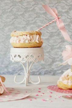 The 4 best recipe of cream: Cream, Patisier, Creme Anglaise, Almond cream, Cream Paris-Brest or cream muslin with praline / Amazing Cooking Profiteroles, Eclairs, Pavlova, Cheesecakes, Cream Horns, Lenotre, Paris Brest, Almond Cream, Cream Cream