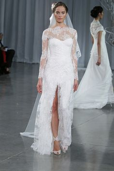 Monique Lhuillier Fall 2013    if i ever get married i love this!!!