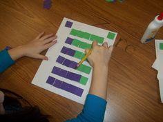 Математика в детском саду ванны