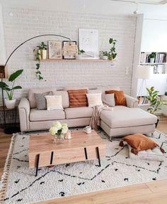 New Living Room, Home And Living, Living Room Decor, Living Room Inspiration, Cozy House, Apartment Living, Home Interior Design, Living Room Designs, Family Room