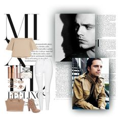 """""""Mixed Feelings"""" by xo-nataliiee-xo ❤ liked on Polyvore featuring Topshop, TIBI, Wild Diva, Charlotte Tilbury, Gucci, APM Monaco, Michael Kors and Amour"""