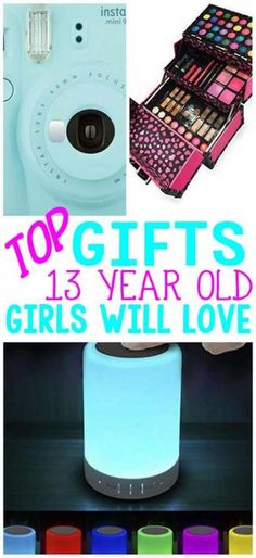 Gifts for 13 year old girls - Gifts box ideas, Gifts for teens,Gifts for boyfriend, Gifts packaging 18th Birthday Gifts For Girls, Cute Birthday Gift, Birthday Cards For Mum, 13th Birthday, Girl Birthday, Happy Birthday, 13 Year Old Christmas Gifts, Christmas Gifts For Teen Girls, Christmas Fun