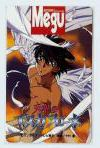 // Escaflowne Version: TV // Type of item: Telephone Card // Company: ?? // Release: ?? // Other notes: Not for sale bonus with Megu //