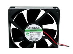 Sunon DC 12V 1W 9CM 9225 9025 92*25MM magnetic levitation silent KDE1209PTV3 axial cooling fan case cooler 2 pin - Newegg.com