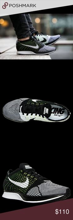 flyknit racer running worn once. unisex. Nike Shoes Athletic Shoes
