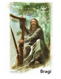 Æsir: Bragi: Poetry, music, and harp                                                                                                                                                                                 More