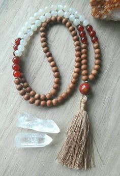 Check out this item in my Etsy shop https://www.etsy.com/listing/520338649/mala-beads-108-moonstone-carnelian