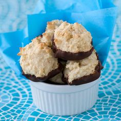 Chocolate Bottom Macaroon Cookies | Post Punk Kitchen | Vegan Baking & Vegan Cooking