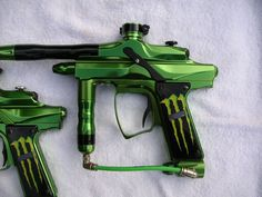 Awsome monster energy paintball gun
