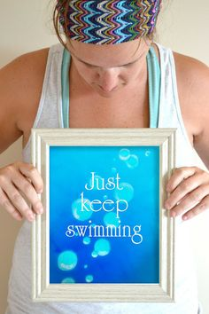 Hey, I found this really awesome Etsy listing at https://www.etsy.com/listing/161787050/just-keep-swimming-quote-art-print