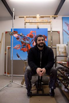 juan ford, in the studio Rhinoplasty, Art Museum, Royalty, Ford, Artist, Photography, Painting, Studio, Royals