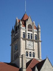 Rush County Courthouse, Indiana
