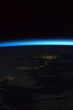 Morning glory. The day begins for Earths ambassadors aboard the International Space Station. Credit: Fragile Oasis