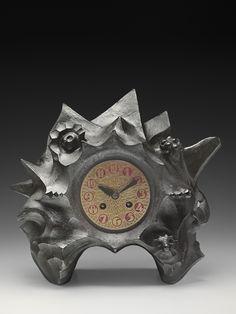 Toon Rädecker, clock, around 1921, manufactured by Winkelman & van der Bijl.