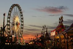 I want to go to a carnival someday....not the fair's carnival or anything like that but a pure carnival