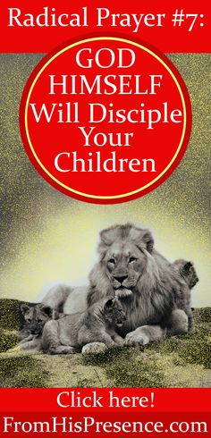 Worried about your children? Pray this radical Bible promise and God Himself will disciple your children.