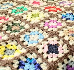 Hello, The Amazing Technicolor Crochet Afghan. It's the perfect free crochet afghan pattern for summer!