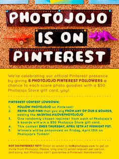 Lofi lovers: Photojojo is making their official Pinterest debut today! Read the lowdown above to find out how you can score one of 6 Photojojo Store gift cards. #ILOVEPHOTOJOJO