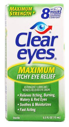 Clear Eyes Maximum Itchy Eye Relief 15mL ögondroppar