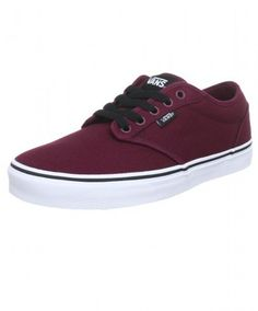 These stylish VANS Atwood Mens Canvas Trainers are constructed with a  cushioned insole and padded ankle cabf75466a