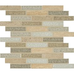 MS International Crystal Vista 12 in. x 12 in. x 8 mm Glass Stone Mesh-Mounted Mosaic Wall Tile-SGLSGG-CV - The Home Depot