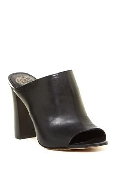 Vestata Open Toe Mule by Vince Camuto on @HauteLook