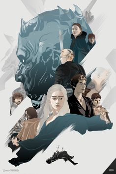 aseo: new art for Game of Thrones season 6,,,,,,,!!!!