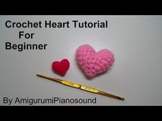 Video Class How to make a Beautiful Crochet 3D Puffy Heart Tutorial | The best ever ASMR - YouTube